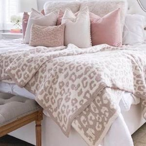 New Barefoot Dreams CozyChic in the Wild Throw